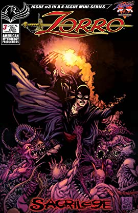 Zorro: Sacrilege #3