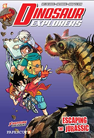 Dinosaur Explorers Tome 6: Escaping the Jurassic