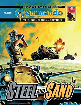 Commando No.5260: Steel And Sand