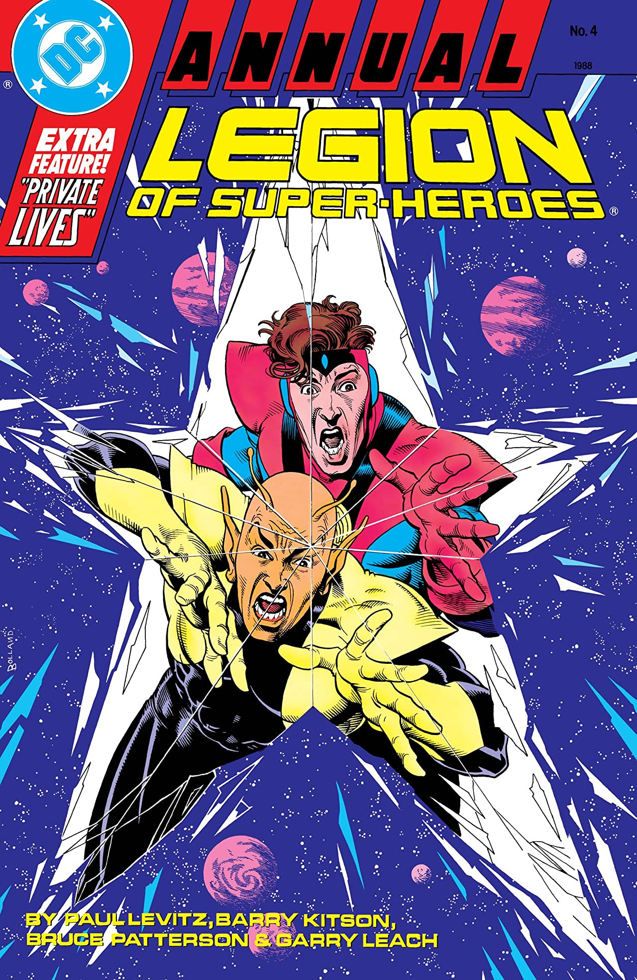 Legion of Super-Heroes (1984-1989) Annual #4