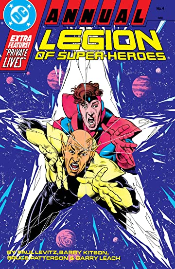 Legion of Super-Heroes (1984-1989) Annual No.4
