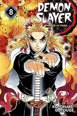 Demon Slayer:Kimetsu no Yaiba Vol. 8: The Strength of the Hashira