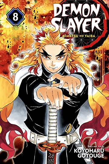 Demon Slayer: Kimetsu no Yaiba Vol. 8: The Strength of the Hashira