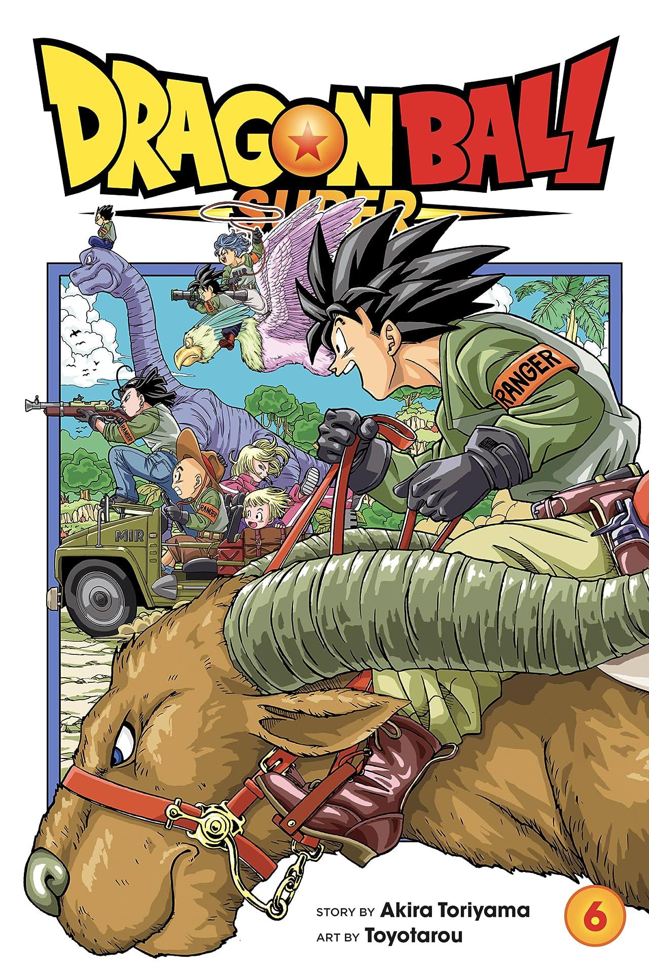 Dragon Ball Super Tome 6: The Super Warriors Gather!