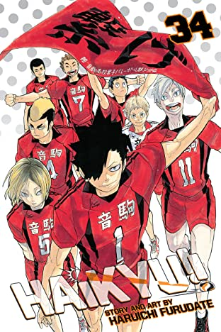 Haikyu!! Tome 34: Cats' Claws