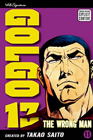 Golgo 13 Tome 11: The Wrong Man