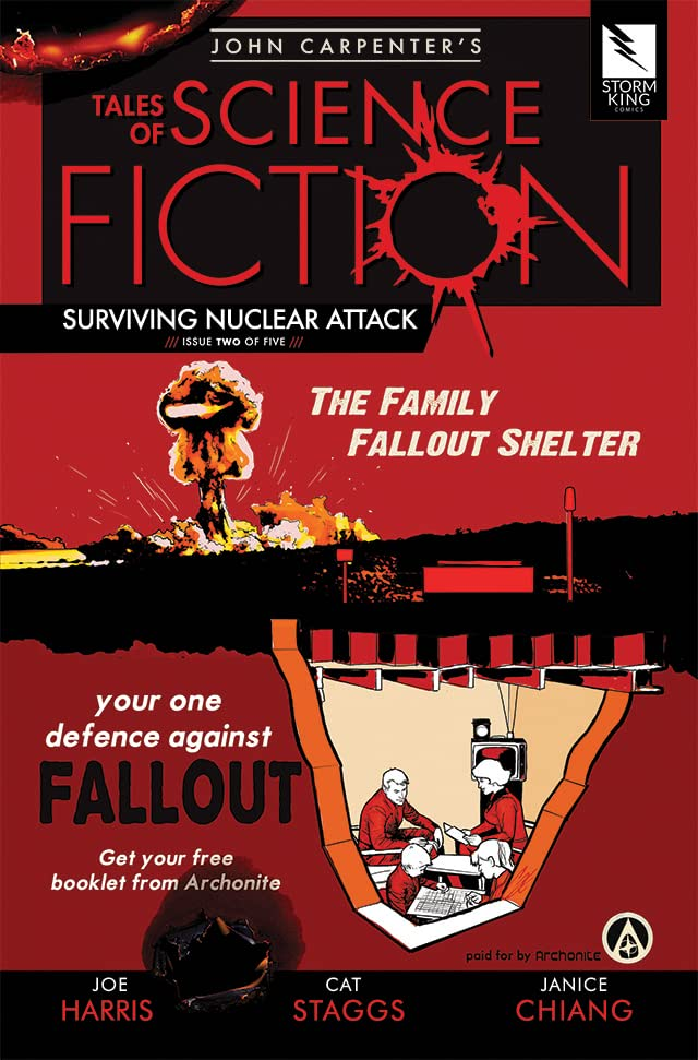 John Carpenter's Tales of Science Fiction: SURVIVING NUCLEAR ATTACK #2