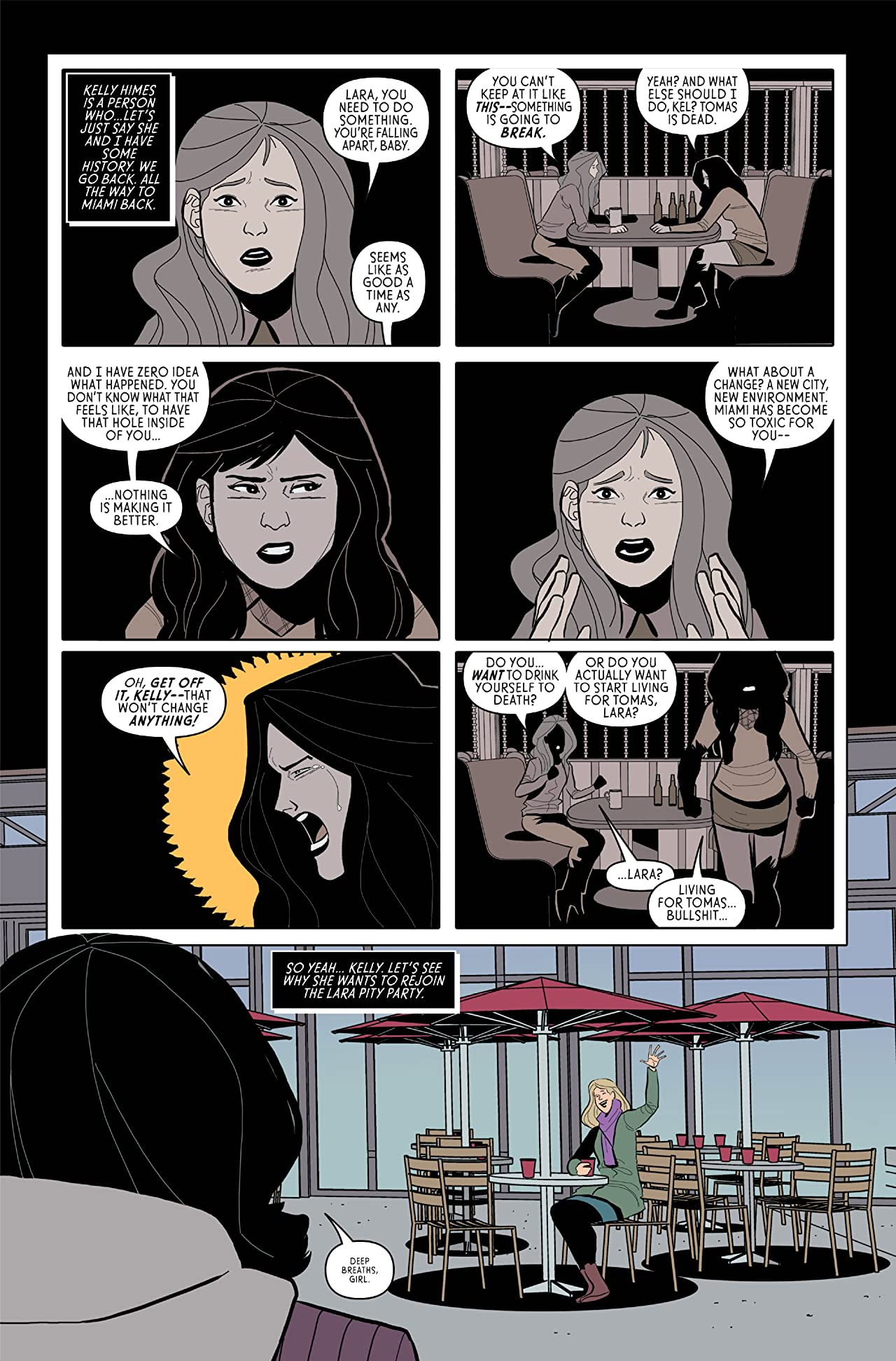 The Black Ghost (comiXology Originals) #3 (of 5)