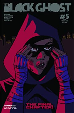 The Black Ghost (comiXology Originals) No.5 (sur 5)