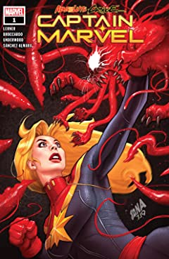 Absolute Carnage: Captain Marvel (2019) No.1