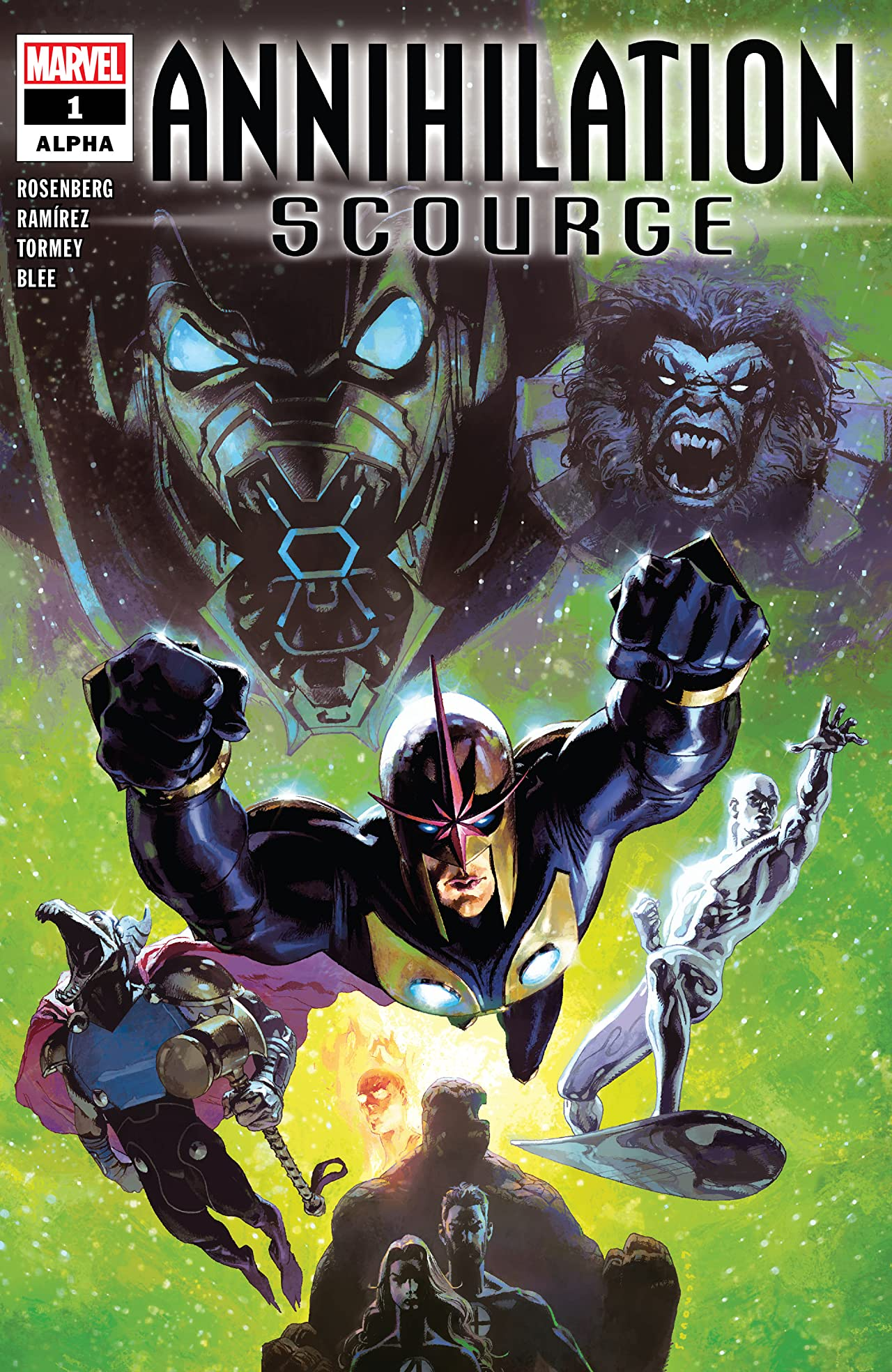 Annihilation - Scourge Alpha (2019) No.1