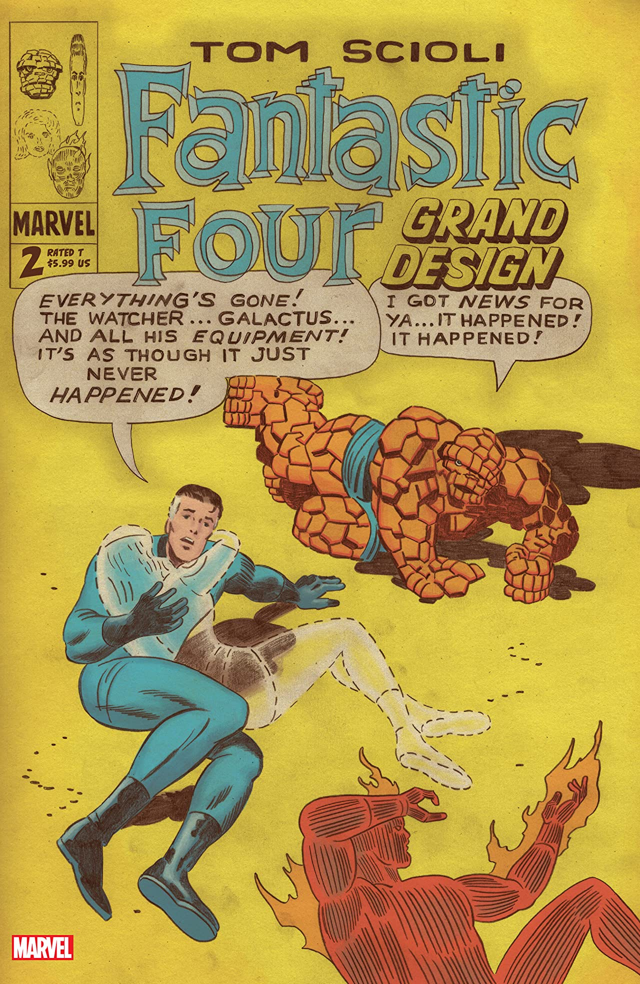 Fantastic Four: Grand Design (2019-) No.2 (sur 2)