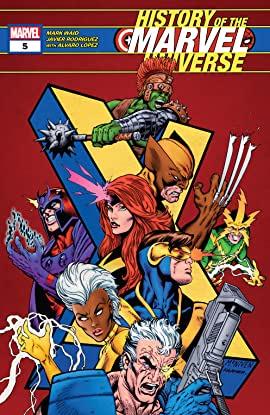 History Of The Marvel Universe (2019-) #5 (of 6)