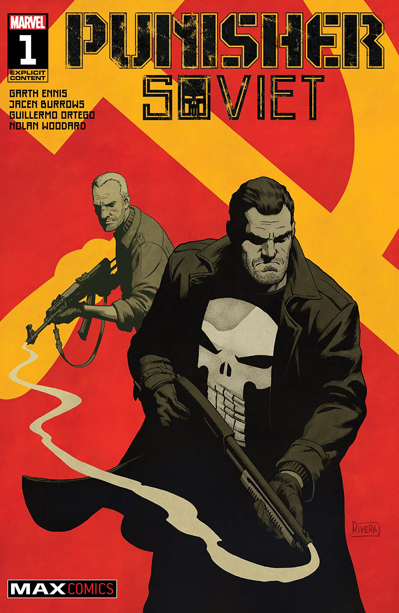 Punisher: Soviet (2019-) No.1 (sur 6)