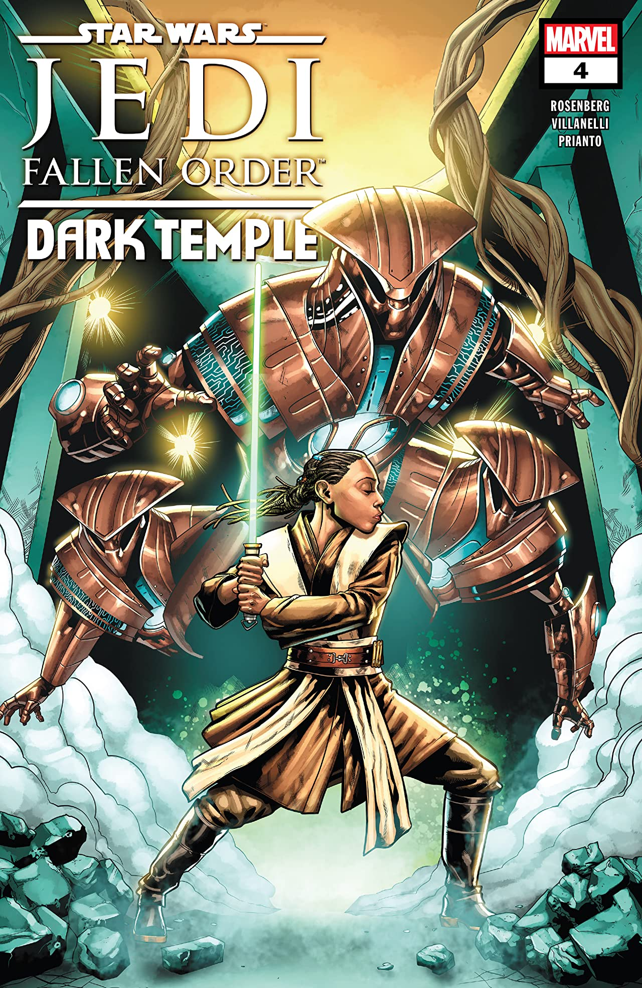Star Wars: Jedi Fallen Order–Dark Temple (2019-) No.4 (sur 5)