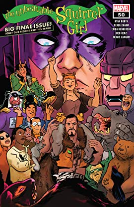 The Unbeatable Squirrel Girl (2015-2019) #50