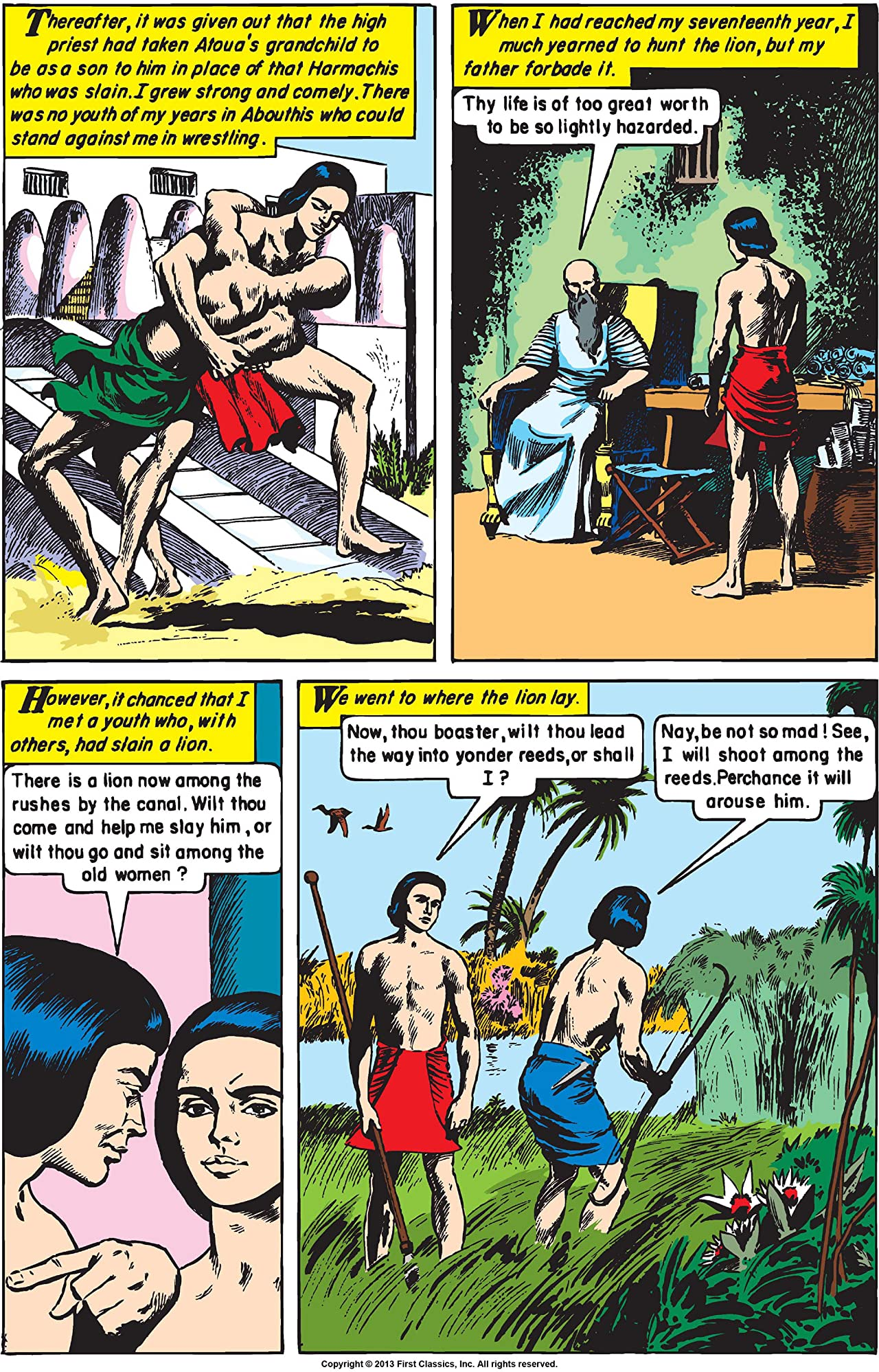Classics Illustrated #161: Cleopatra