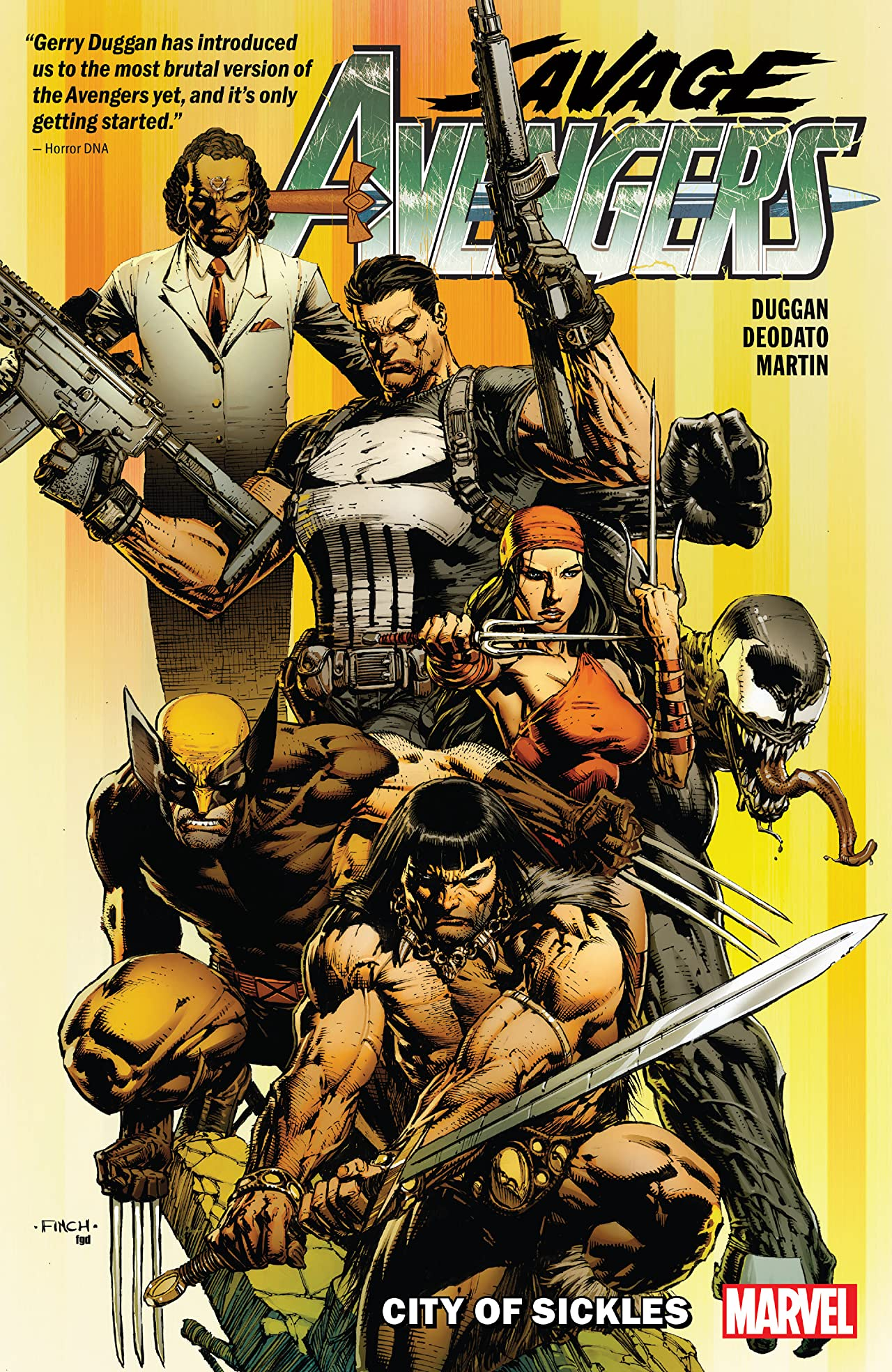 Savage Avengers Tome 1: City Of Sickles