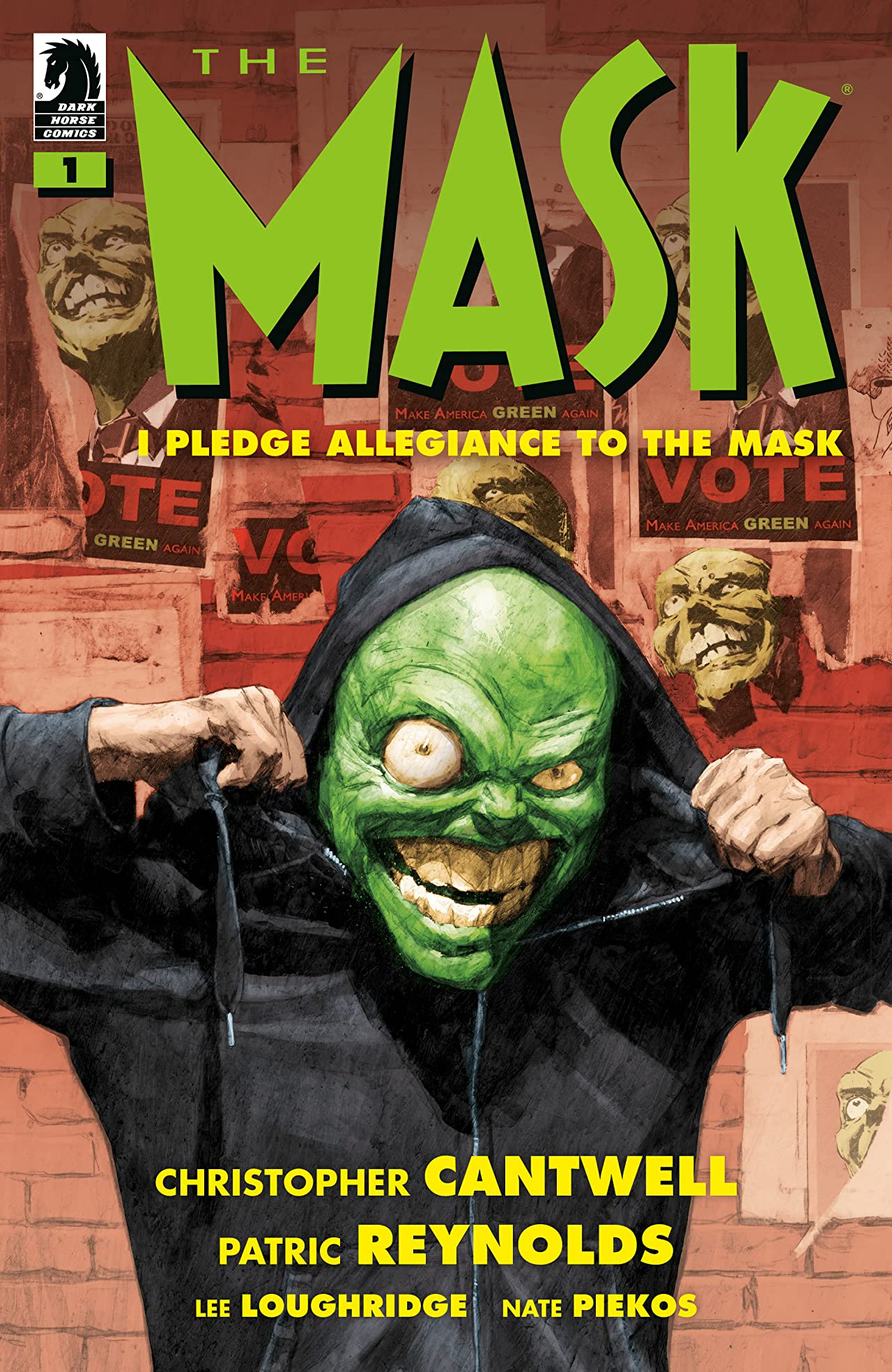 The Mask: I Pledge Allegiance to the Mask No.1