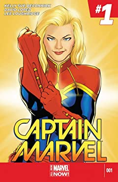 Captain Marvel (2014-2015) #1