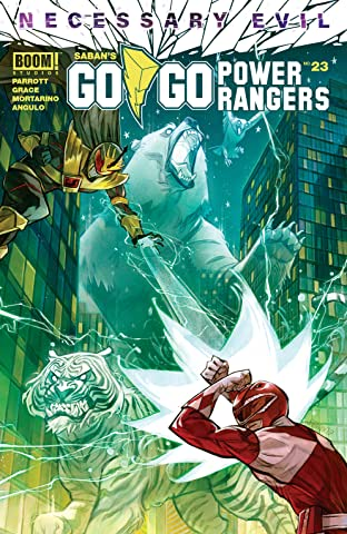 Saban's Go Go Power Rangers No.23