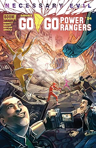 Saban's Go Go Power Rangers No.24