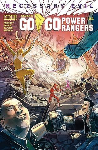 Saban's Go Go Power Rangers #24