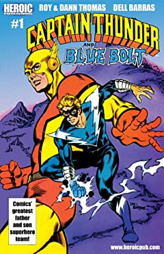 Captain Thunder and Blue Bolt #1