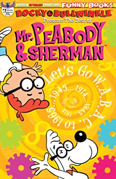 Rocky & Bullwinkle: The Best of Peabody & Sherman #1