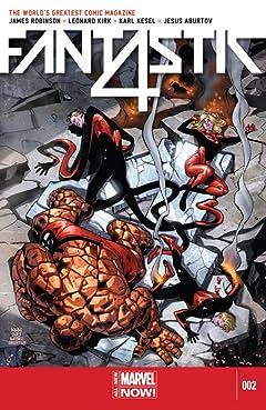 Fantastic Four (2014-2015) #2
