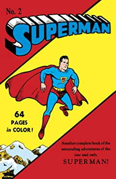 Superman (1939-2011) No.2