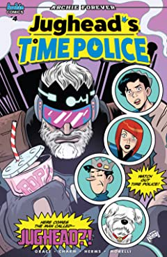 Jughead's Time Police #4