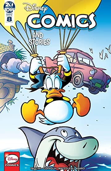 Disney Comics and Stories #8