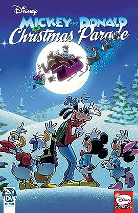 Mickey and Donald's Christmas Parade 2019