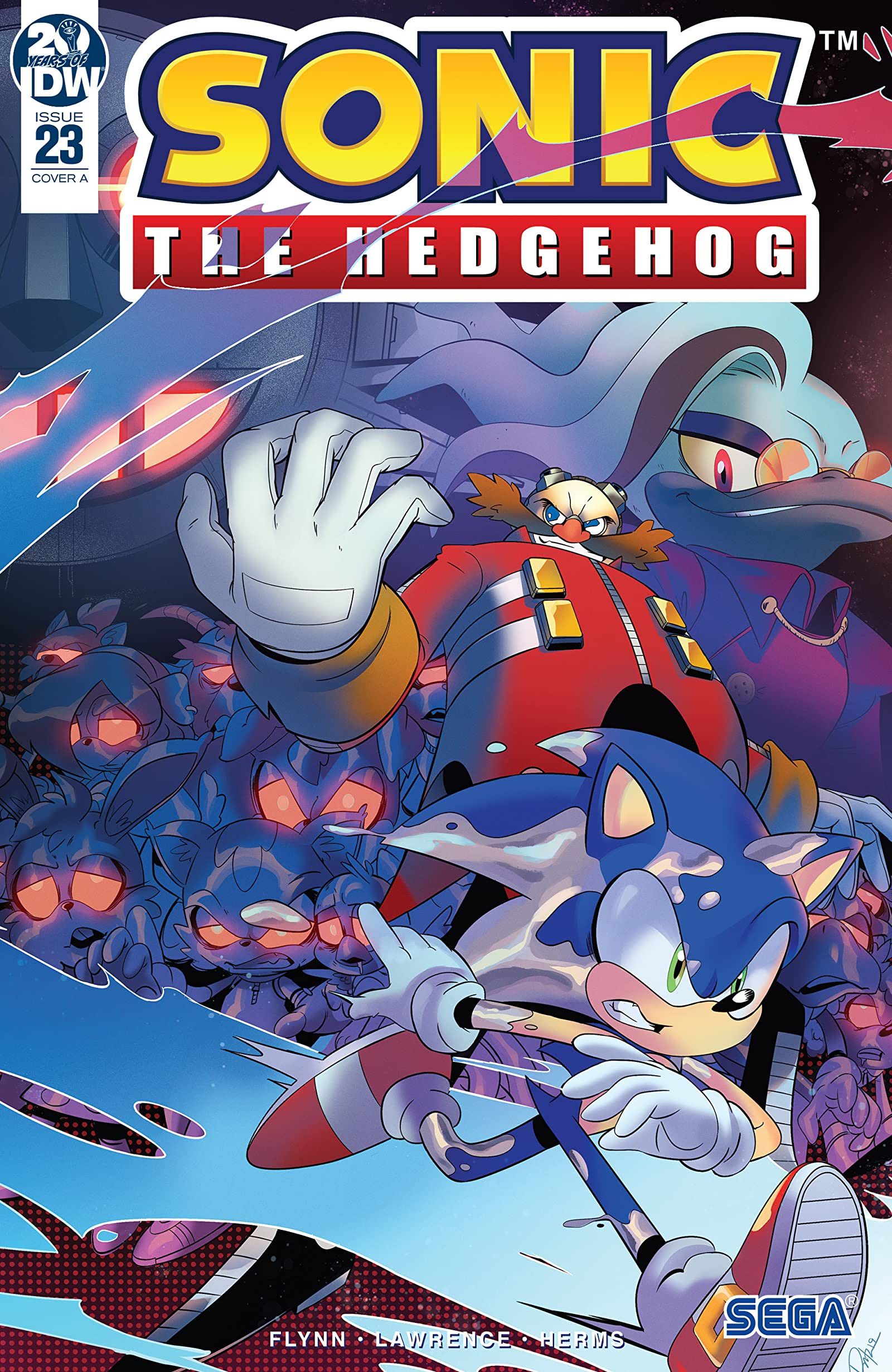 Sonic The Hedgehog 2018 23 Comics By Comixology