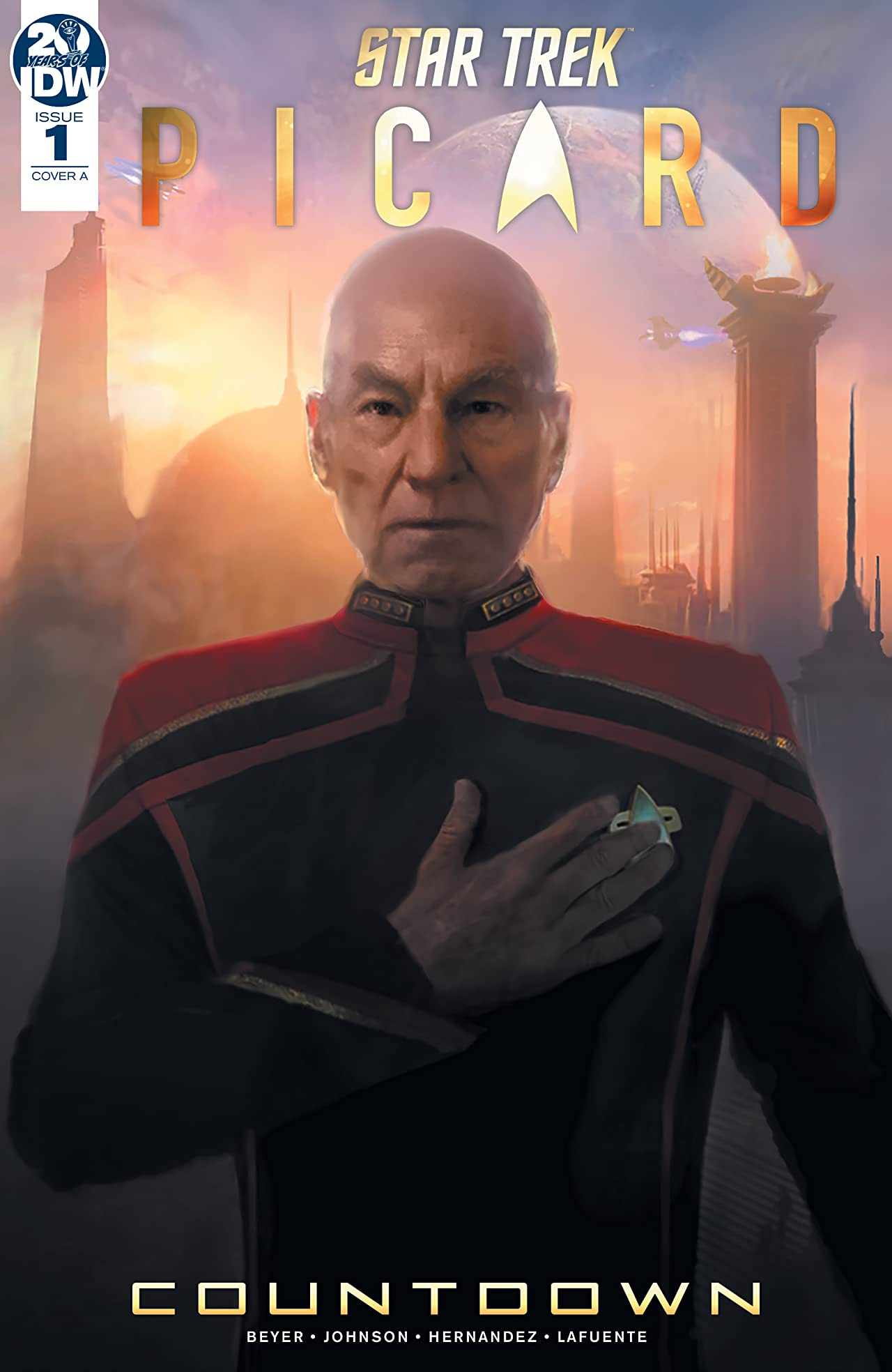 Star Trek: Picard—Countdown #1 (of 3)