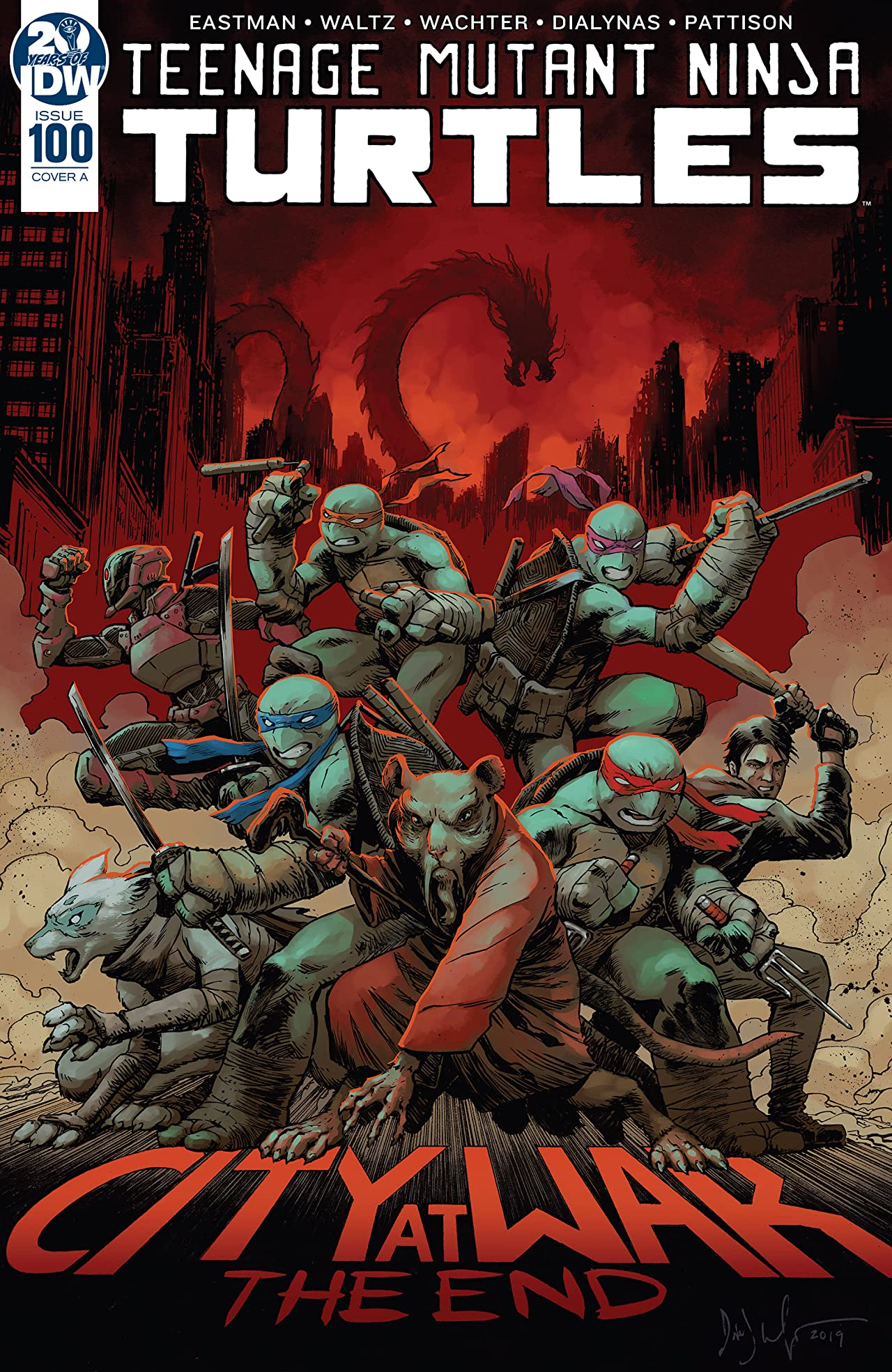 Teenage Mutant Ninja Turtles No.100