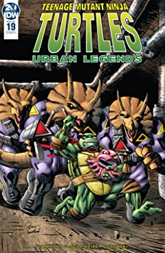 Teenage Mutant Ninja Turtles: Urban Legends #19