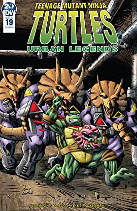 Teenage Mutant Ninja Turtles: Urban Legends #19