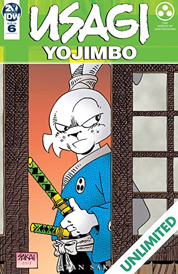 Usagi Yojimbo (2019-) #6: 35th Anniversary