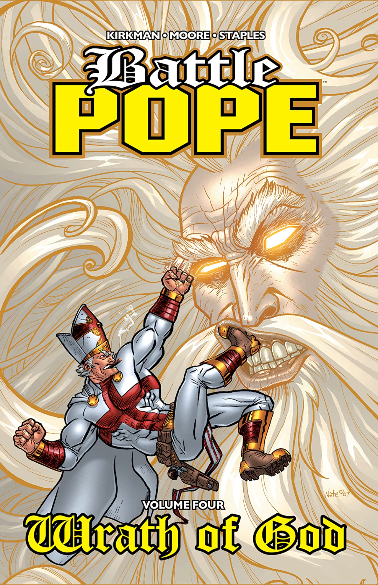 Battle Pope Vol. 4: Wrath of God