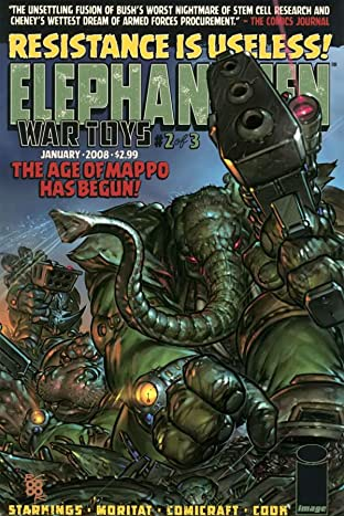 Elephantmen: War Toys No.2 (sur 3)