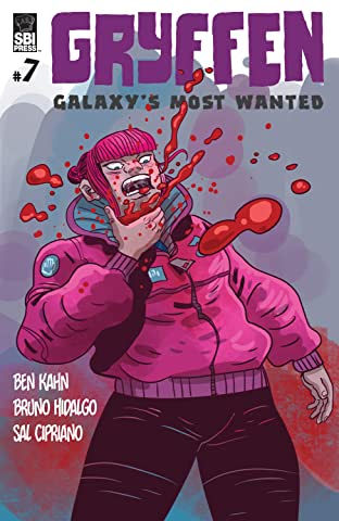 Gryffen: Galaxy's Most Wanted #7