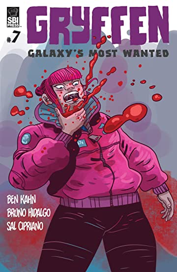 Gryffen: Galaxy's Most Wanted No.7
