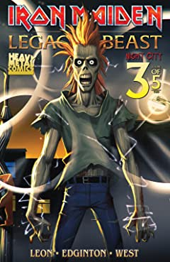 Iron Maiden: Legacy of the Beast - Night City No.3 (sur 5)