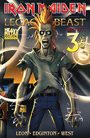 Iron Maiden: Legacy of the Beast - Night City #3 (of 5)