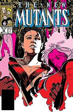 New Mutants (1983-1991) #62