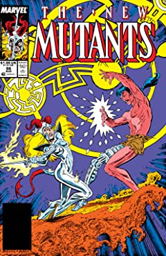 New Mutants (1983-1991) #66