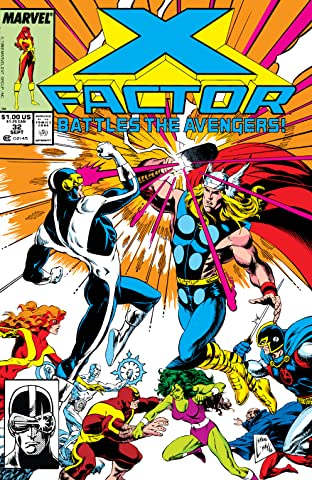 X-Factor (1986-1998) #32