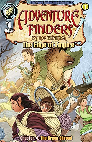 Adventure Finders: The Edge of Empire No.4
